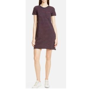 ATM Anthony Thomas Melillo Dresses - ATM Striped Jersey Dress with Pockets.